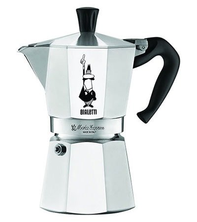 Different Types of Espresso Machines Bialetti 6-Cup Stovetop Espresso Maker Moka Pot - Coffee Dino