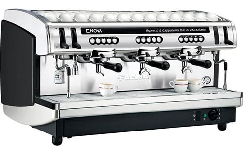 Different Types of Espresso Machines Faema Enova A Commercial Espresso Machine - Coffee Dino