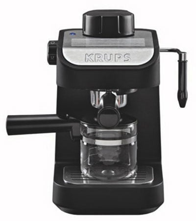 Different Types of Espresso Machines KRUPS Steam Espresso Machine - Coffee Dino