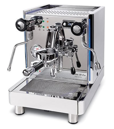 Different Types of Espresso Machines QuickMill VETRANO 0995P Double Boiler LED Steel Semi-Automatic Espresso Machine - Coffee Dino