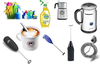 How to Use a Milk Frother Milk Cleaning Tips Ingredients - Coffee Dino