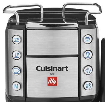 An image of Cuisinart Buona Tazza EM 600's control system