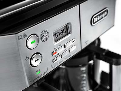An image on the control system of DeLonghi BCO430