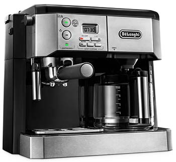 Side view image of the BCO430 combination coffee machine