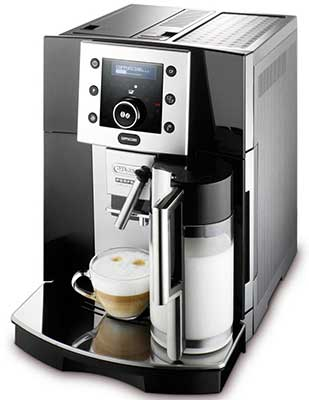 An image of Delonghi Perfecta 5500's auto-frother
