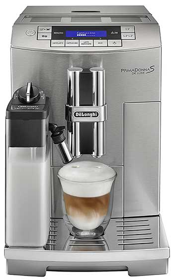 Delonghi ECAM28465M Espresso Maker Front Main - Coffee Dino