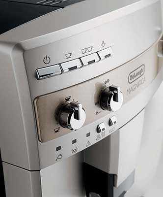 An Image of Delonghi ESAM300 Magnifica Button, Delonghi ESAM300 Review