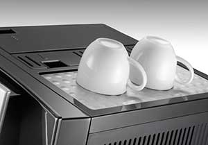 An image of Delonghi Perfecta Super Automatic's cup warming tray
