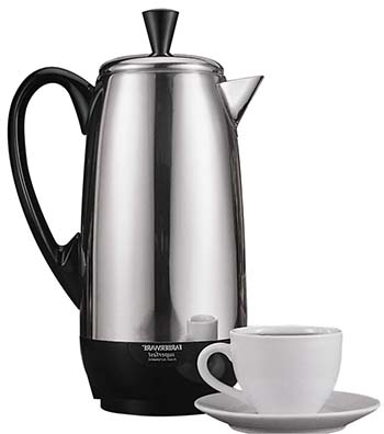 An image of a Percolator coffee maker