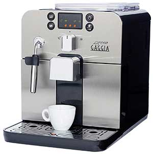 An image of Gaggia Brera in black