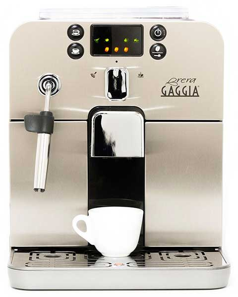 Gaggia Brera Espresso Machine Review Brera Silver - Coffee Dino