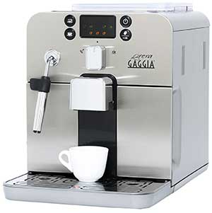 An image of Gaggia Brera in silver