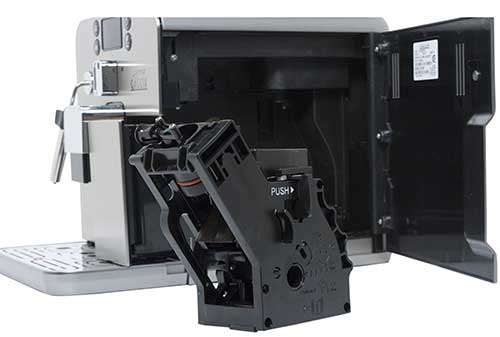 An image of Gaggia Brera's detachable parts