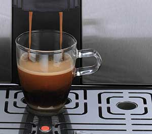 An image of a cup of espresso from Gaggia Brera