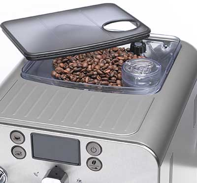 An image of Gaggia Brera's 8.8-ounce grinder