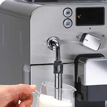 An image of Gaggia Brera's milk steam wand