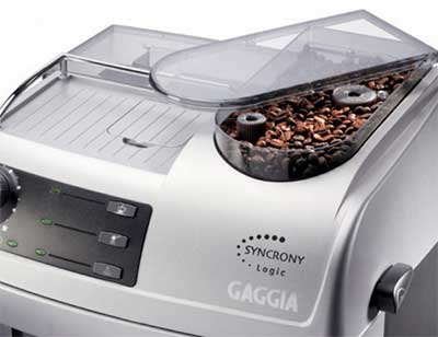 Gaggia Syncrony Logic Rapid Steam Review Integrated Grinder - Coffee Dino