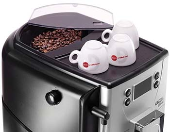 An image of Gaggia Unica's cup warming tray