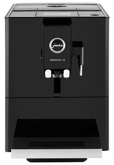 An image of Jura A9, a bean to cup coffee machine