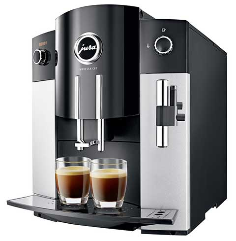An image of Jura C65, a capable automatic coffee machine