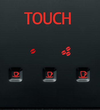An image of Jura Micro 1's one-touch control buttons