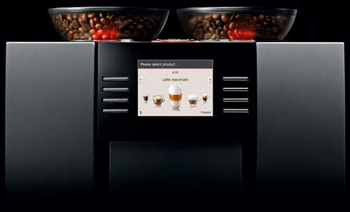 An image of the digital control panel System of Jura Giga 5 Coffee Maker