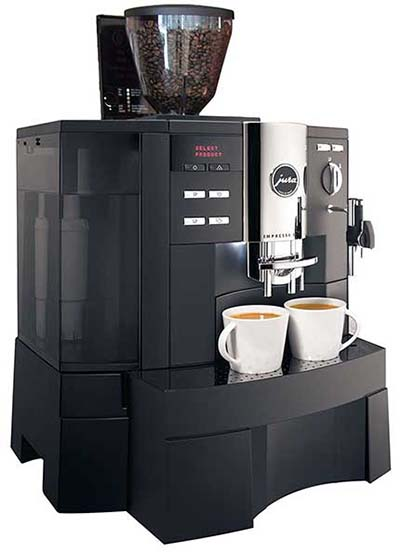 Jura Impressa XS90 OneTouch Automatic Espresso Machine Review Rating - Coffee Dino