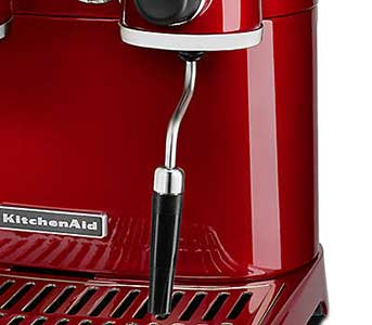 An image of KitchenAid Pro Line's milk frothing wand