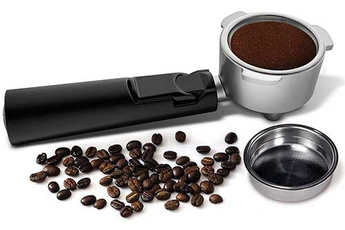 An image of Mr Coffee ECMP1000 Café Barista's portafilter