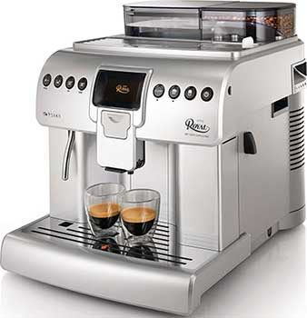 Side view image of Philips Saeco Royal Super Automatic Espresso Machine