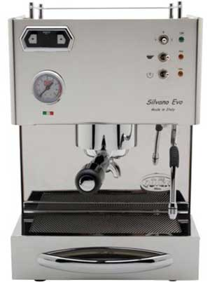 Front view image of Quick Mill Silvano Espresso Machine