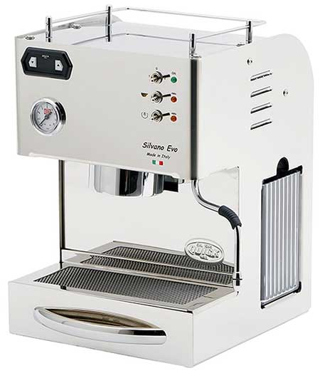 An image of Quick Mill Silvano, an entry-level semi-automatic espresso machine