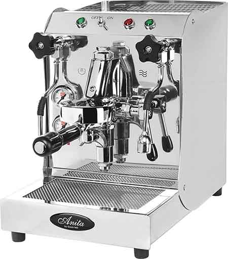 An image of Quick Mill Anita, an excellent semi automatic espresso machine