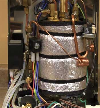 An image of Anita Quickmill's insulated copper boiler