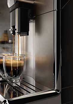 An image of two cups of espresso from Saeco Incanto One Touch