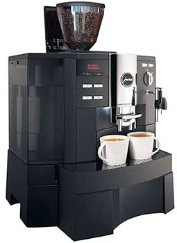 An Image of Jura Impressa Xs90 for Best Bean to Cup Coffee Machines for Home