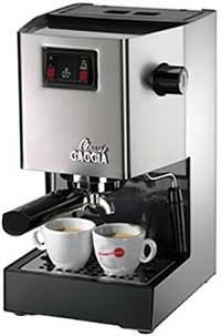 An Image of Gaggia 14101 Classic Espresso Machine for Best Espresso Machine for Under 600