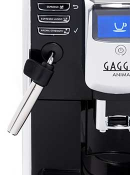 An Image of Gaggia Anima Milk Frothing Stand for Best Espresso Machine for 600
