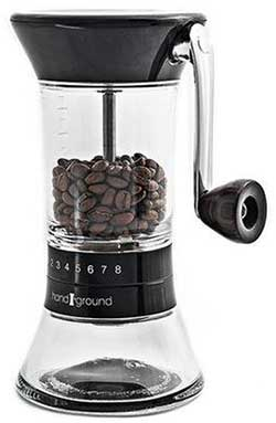 An Image of Handground Precision Grinder for Best Manual Burr Grinder for Espresso