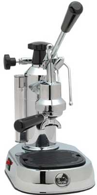 An image of La Pavoni EPC-8, a top quality manual espresso machine