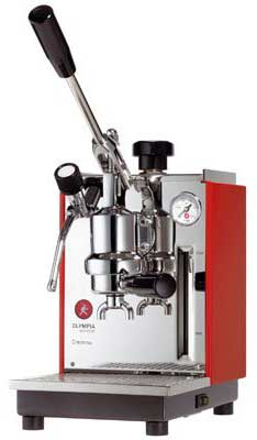 An image of Olympia Express Cremina, a durable, Swiss-made espresso machine