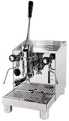 An image of the Quick Mill Achille, our top choice for the best manual espresso machine