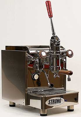 An image of Strong Classic Lever 1, an incredibly capable manual espresso machine