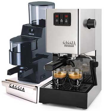Gaggia 14101 Classic With Integrated Coffee Grinder