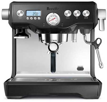An image of the Breville BES900XL, a capable espresso machine