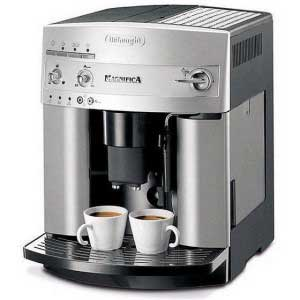 An image of the DeLonghi Magnifica ESAM3300 super automatic espresso machine
