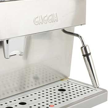An image of Gaggia 90500 Titanium's auto-frother and steam wand