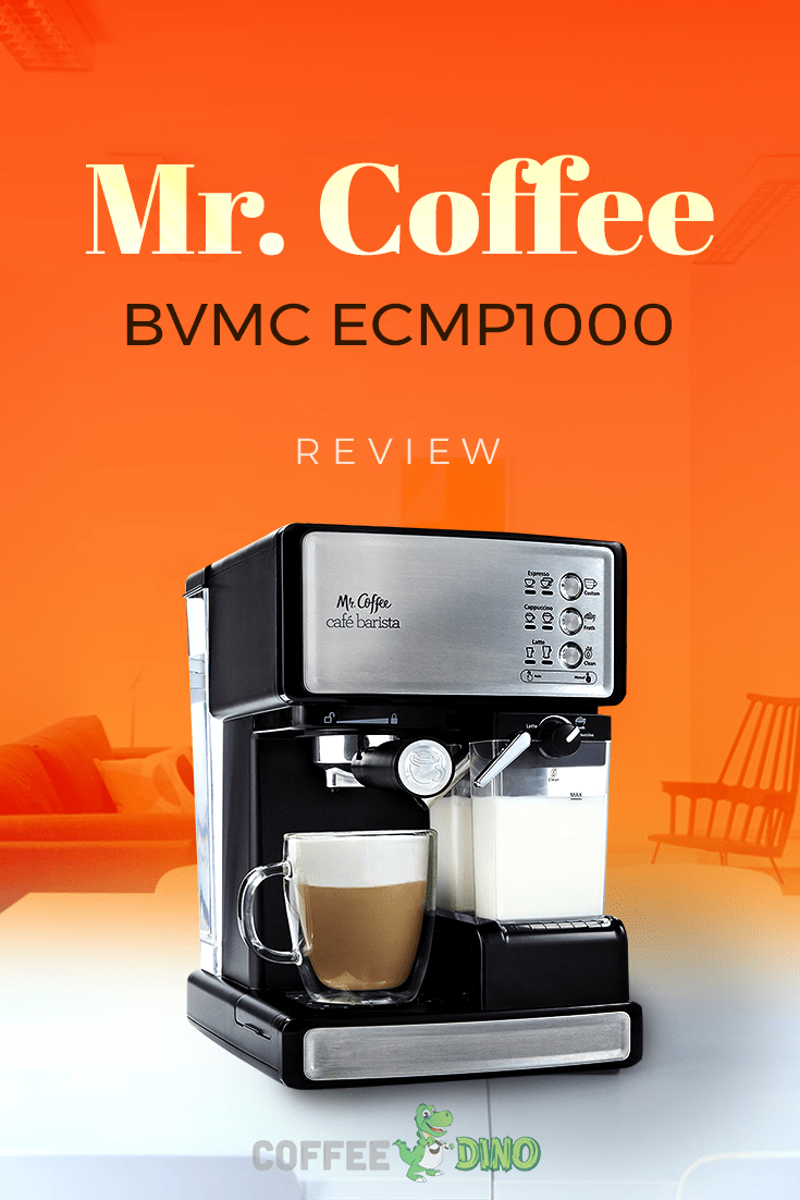 Check out our detailed Mr Coffee ECMP1000 review.  A value-priced semi-automatic that's better than you might expect! @mrcoffee