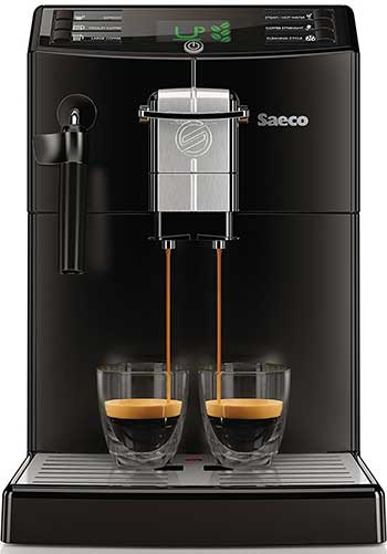 An Image of Saeco Minuto HD8775/48 Front View for Our Saeco Minuto Coffee Machine
