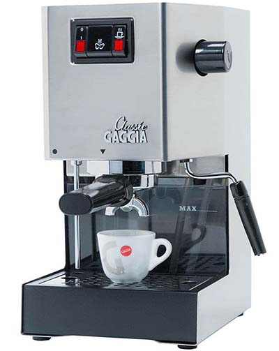 Gaggia Classic is a great machine for starters.